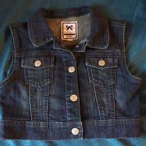 Girls Gymboree Jean Vest